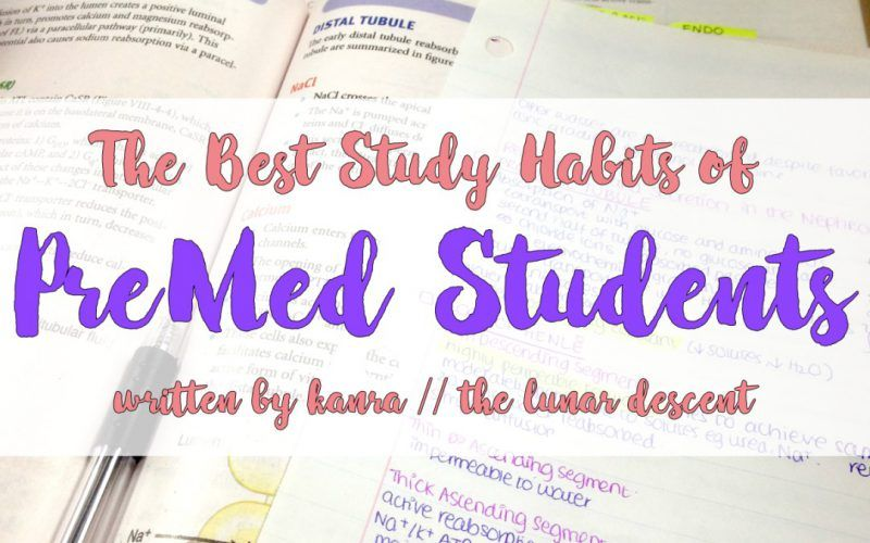 Quora, Med School and the Best Study Habits for PreMed