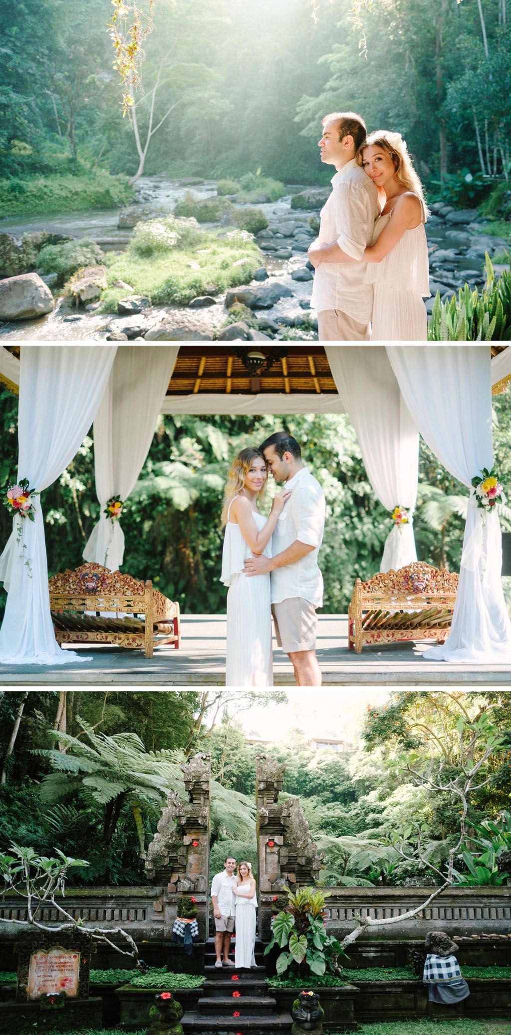 Bali wedding venues on the beach  Here are  Bali wedding venues in Ubud that are a woody heaven