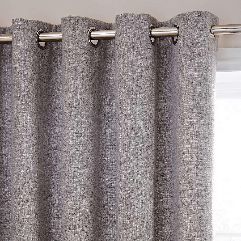 Harris Grey Thermal Eyelet Curtains Dunelm Curtains Grey Curtains Thermal Curtains