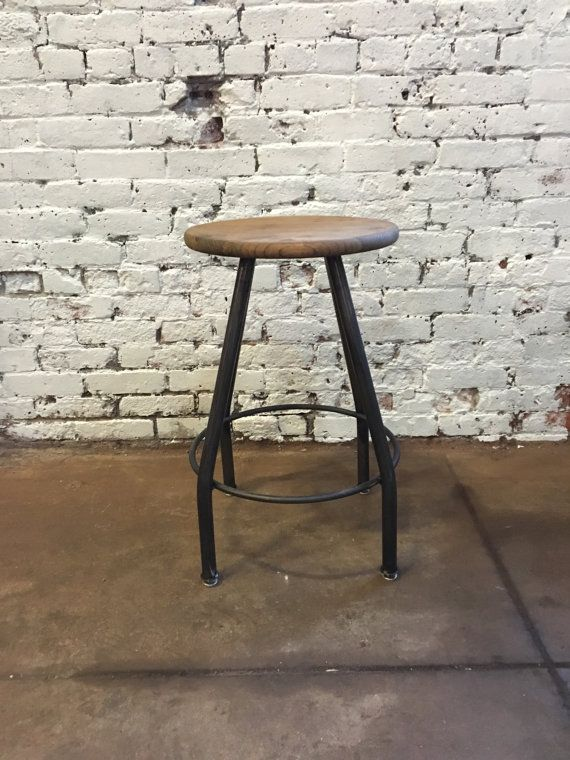 Classic Bar Stool Counter Stool No Back Bar Stools Rustic Bar