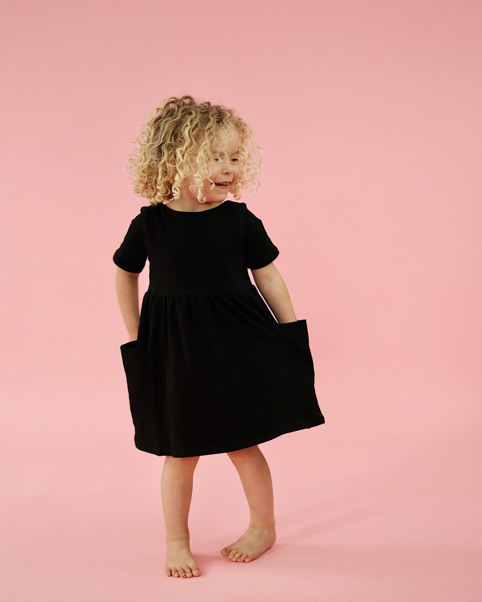 Janie dress , black