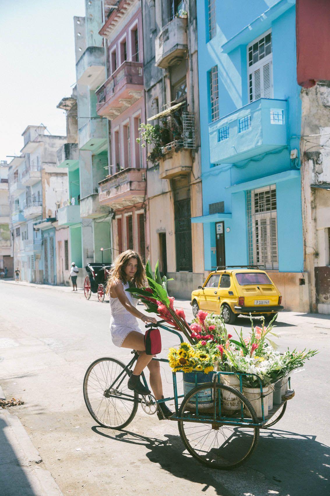 Обои куба, havana, ночь, Old Havana, Гавана. Города foto 13