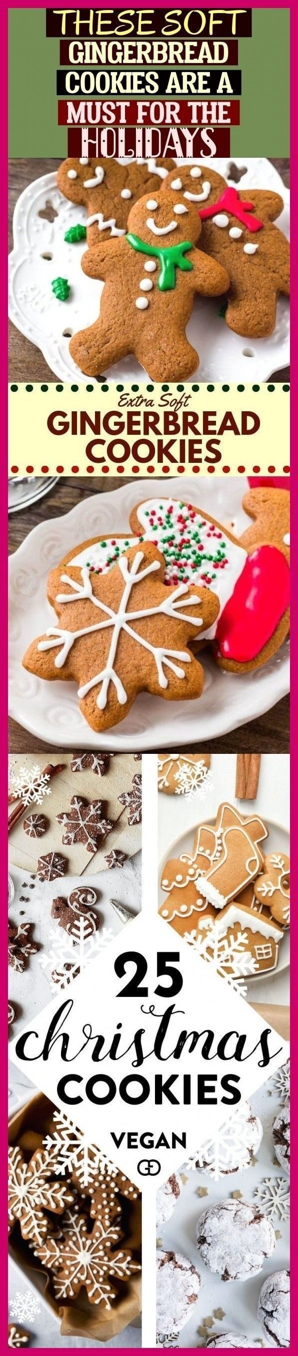 These Soft Gingerbread Cookies Are A Must For The Holidays ! diese weichen lebkuchenplätzchen sind ein muss für die feiertage #gingerbread #gingerbreadmen #christmas #baking #cookiesalad These Soft Gingerbread Cookies Are A Must For The Holidays ! diese weichen lebkuchenplätzchen sind ein muss für die feiertage #gingerbread #gingerbreadmen #christmas #baking #sliceandbakecookieschristmas