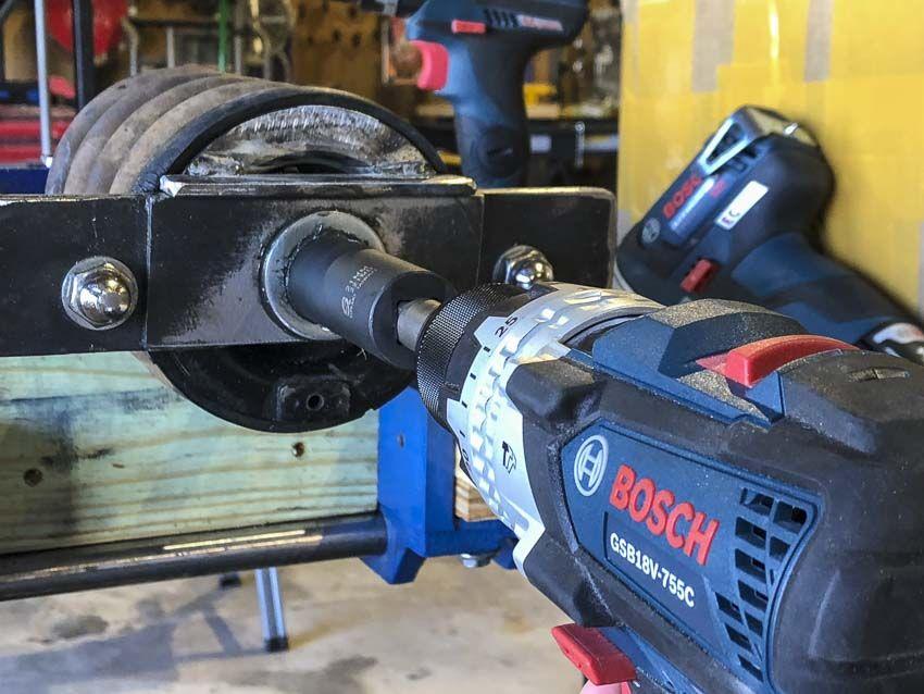 Bosch Gsb18v 755cn Hammer Drill Review Brute Tough Ptr Hammer Drill Bosch Drill