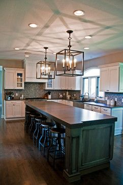 Amazon Grey Leather Countertops   Traditional   Kitchen   Cleveland    Bradley Stone Industries
