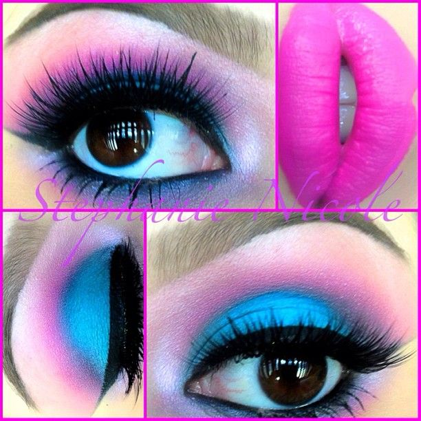 Stephanie Salinas Super Fun 80 S Makeup For Tonight S 80 S