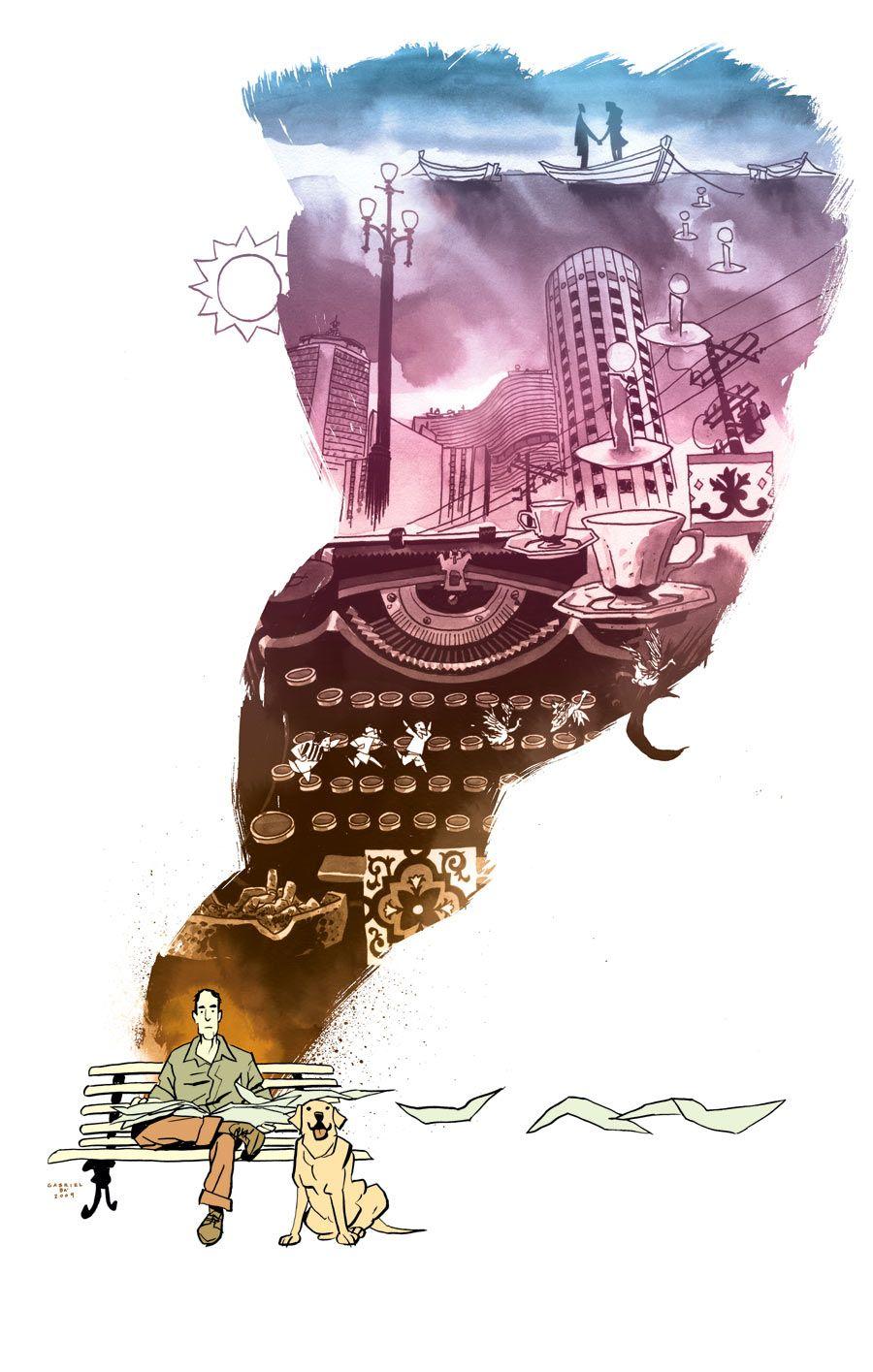 Ilustrador de Quadrinhos: Fabio Moon e Gabriel Bá | Abduzeedo | Graphic Design Inspiration and Photoshop Tutorials