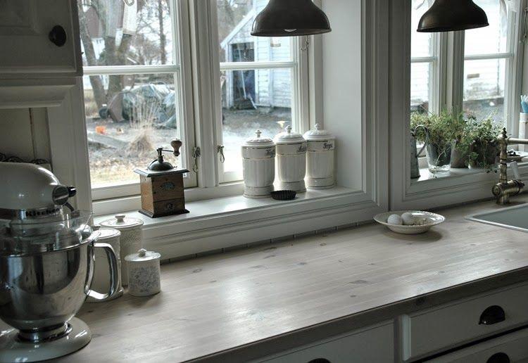 In Norvegia , a casa di Helene dove il vero shabby la fa ...