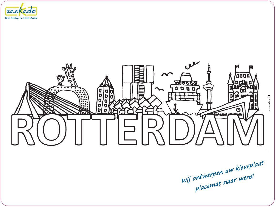 Pin Van Annemarie Venemans Op Tekeningen Placemats Rotterdam Mooie Afbeeldingen