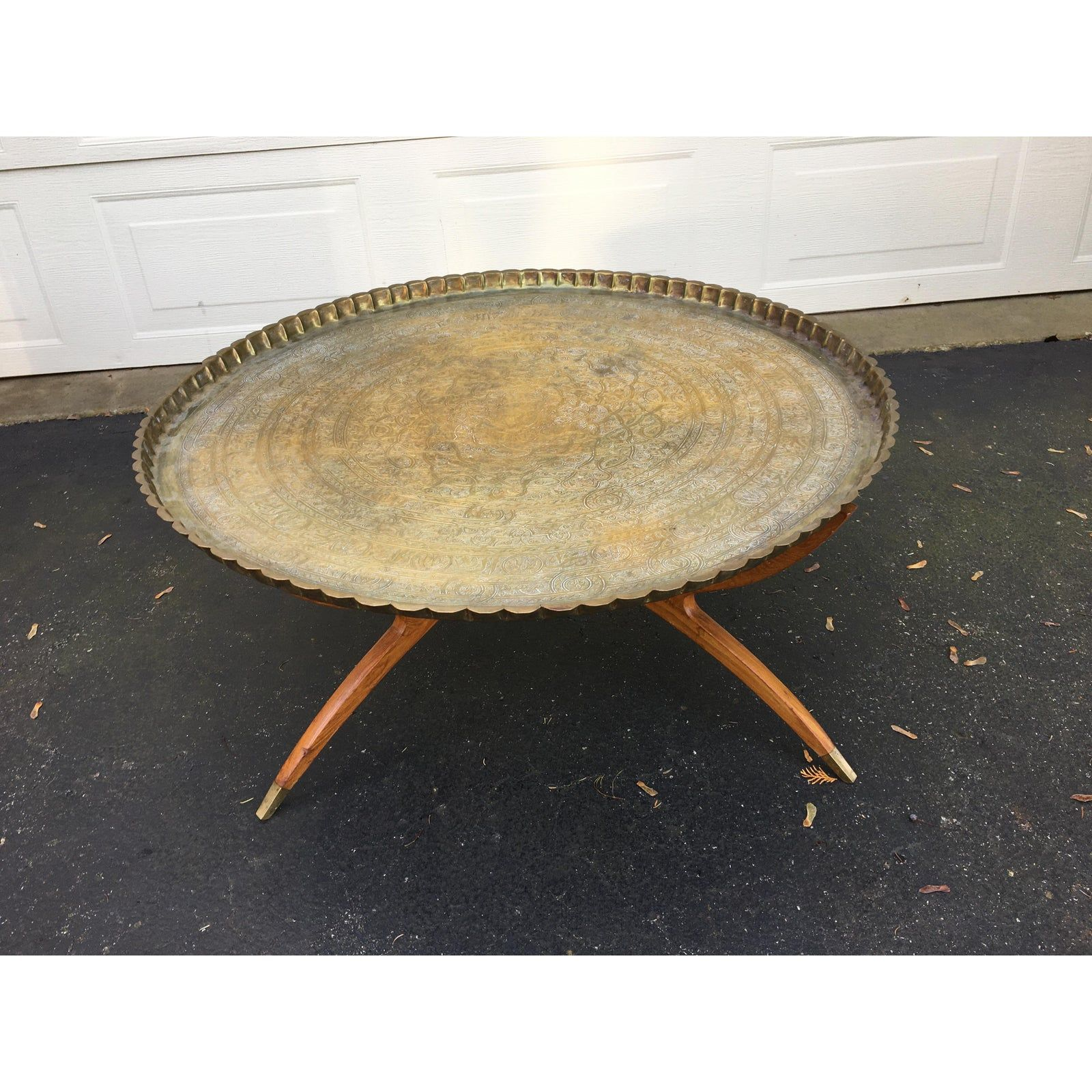 Moroccan Round Brass Tray Coffee Table Antique Coffee Tables Coffee Table Metal Coffee Table [ 1280 x 1280 Pixel ]
