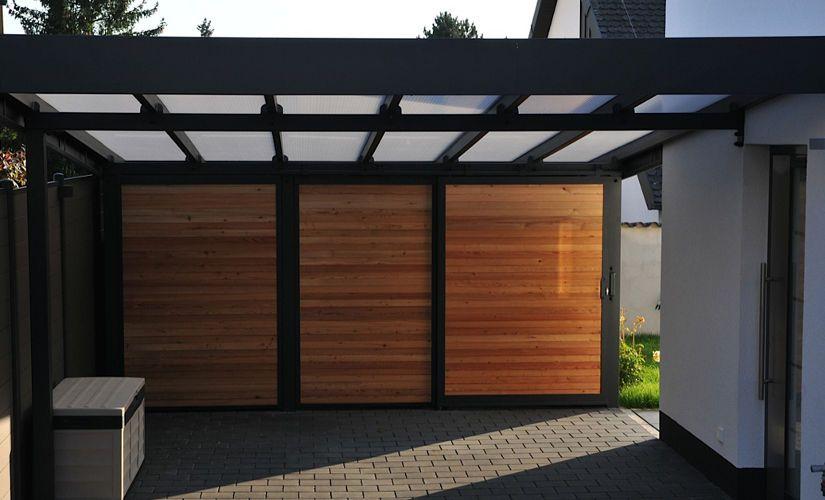 moderne carports carport pinterest aussen rund ums haus und runde. Black Bedroom Furniture Sets. Home Design Ideas