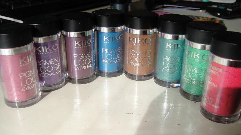 Pigment loose eyeshadow Kiko vs Colour art Essence!