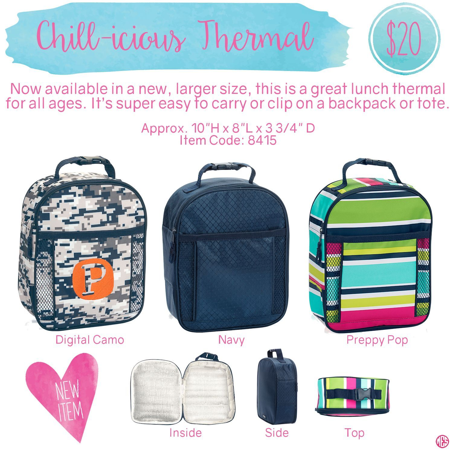 Oh snap bin ideas - Chill Icious Thermal By Thirty One Spring Summer 2016 Click To
