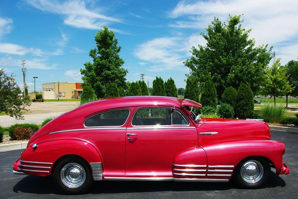 pictures of vintage cars chevrolet 1948 fleetline fastback