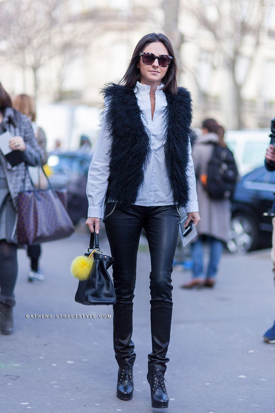 Paris Fashion Week Fall 2014 Street Style - Photo ©ATHENS ...