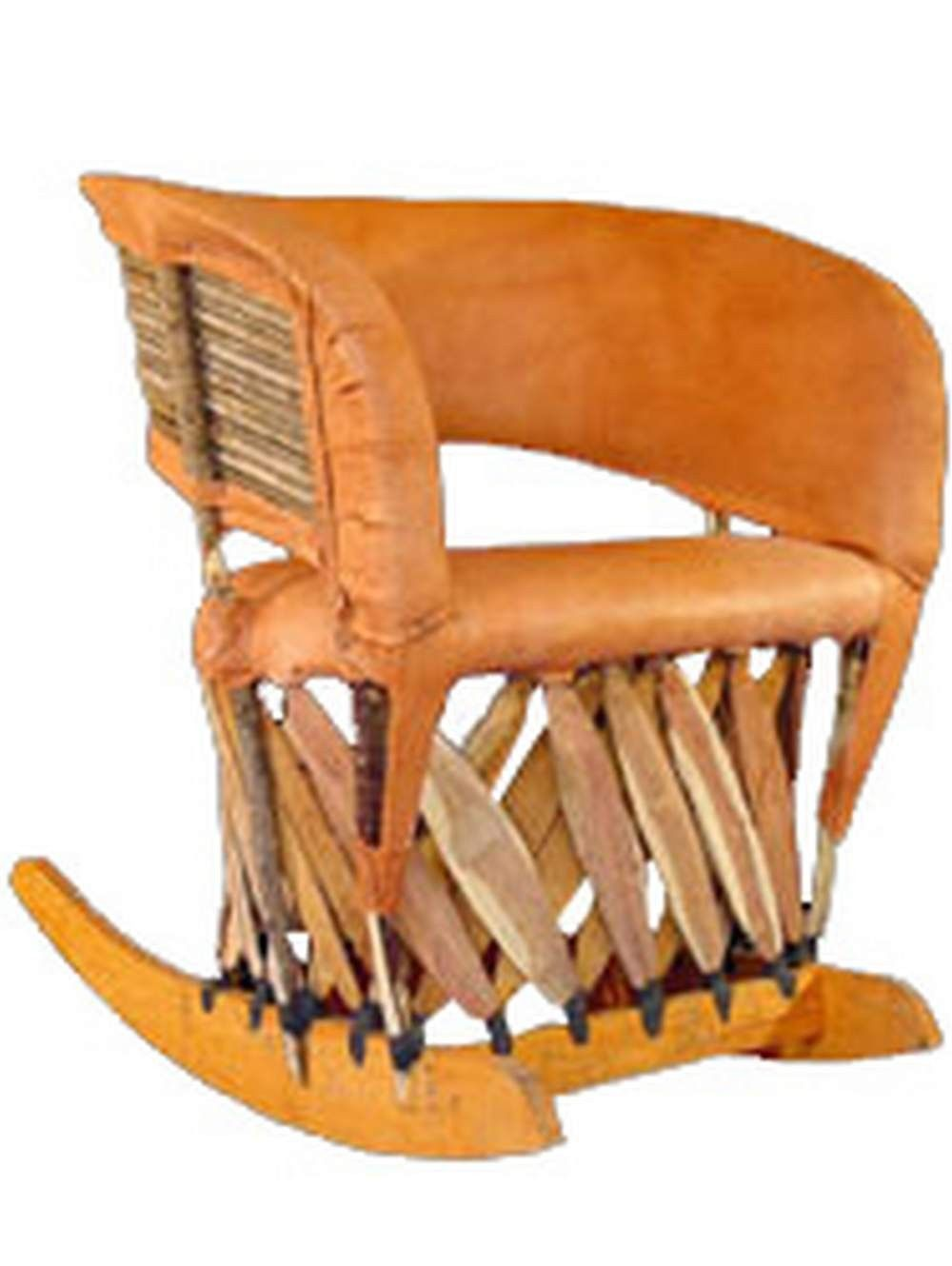 Mexican Rocking Chair Cancun Rustic Equipale Rocking Chair