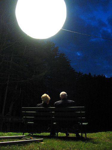 together .... under the light