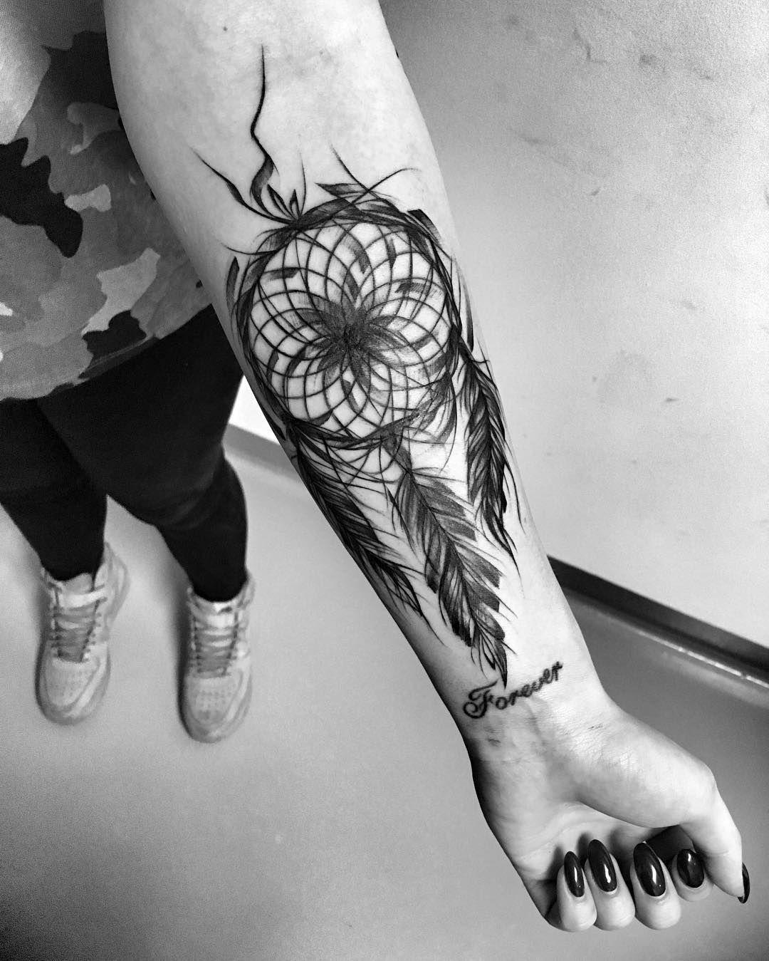 Sketch Style Dreamcatcher Action Disenos De Tatuajes De Arcos Tatuajes Chiquitos Brazos Tatuados