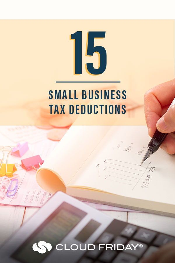 15 Valuable Small Business Tax Deductions in 2020   Small ...