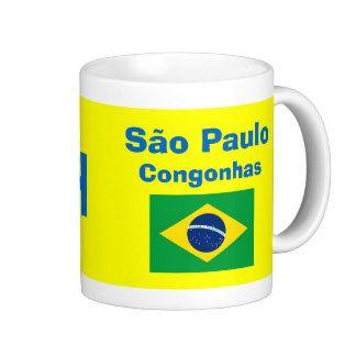 São Paulo Congonhas Mug / Caneca de Congonhas; www.zazzle.com/airports*