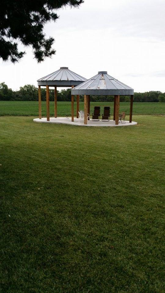 Grain Bin … | Silo House Ideas in 2019 | Silo house, Garden