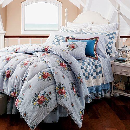 Nantucket Bedroom Design Ideas: Chaps Nantucket Garden Floral