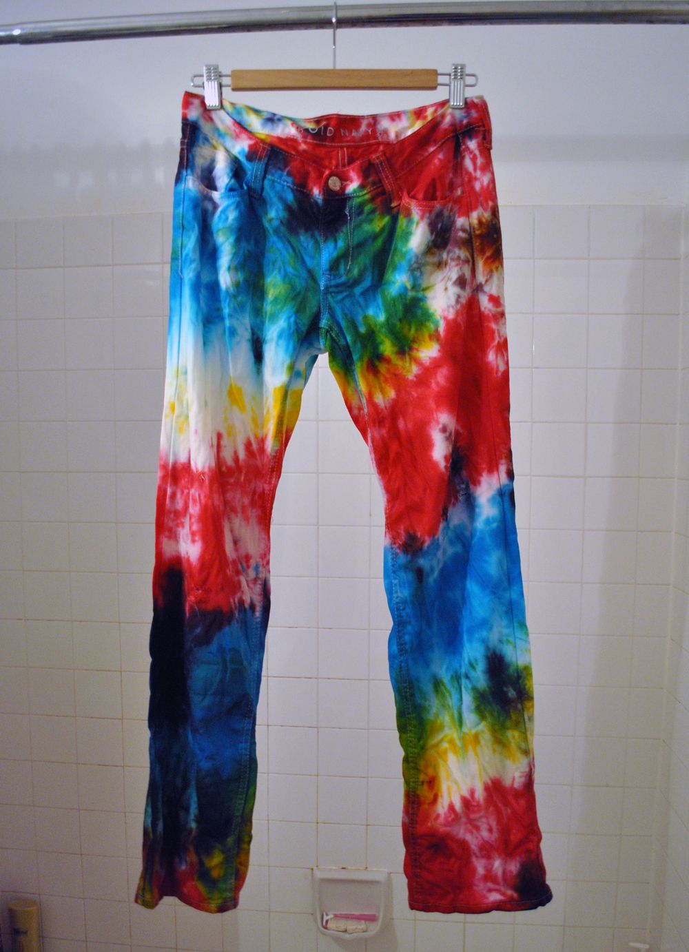 How to tie dye your jeans in eleven easy steps diy tie