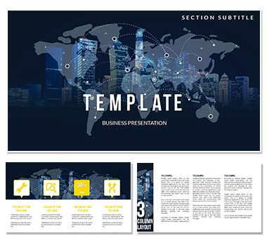 Economic Globalization Powerpoint Templates Powerpoint Templates