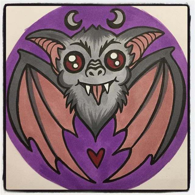 I Finished This Vampirebat Today Wow Bats Are So Cool Looking Love Their Crazy Ears