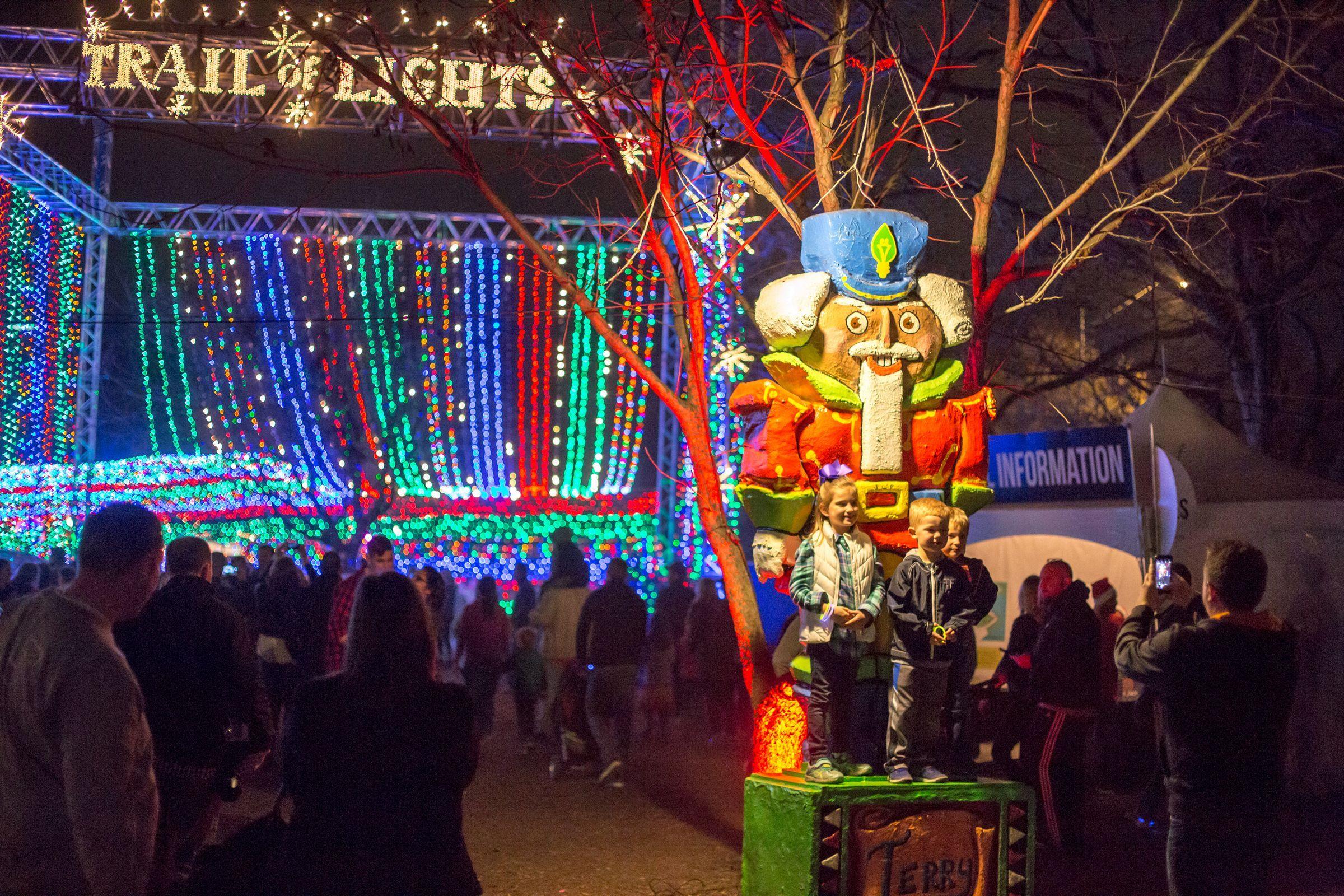 Austin Trail of Lights Best christmas lights, Best