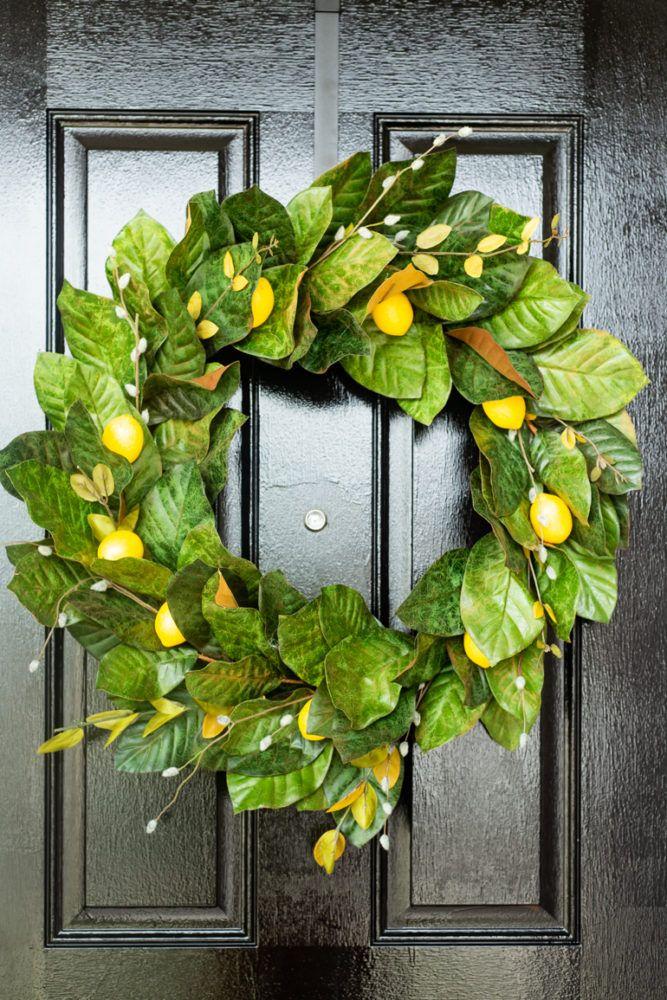 Photo of DIY spring wreath + our veranda refresh – love & renovation