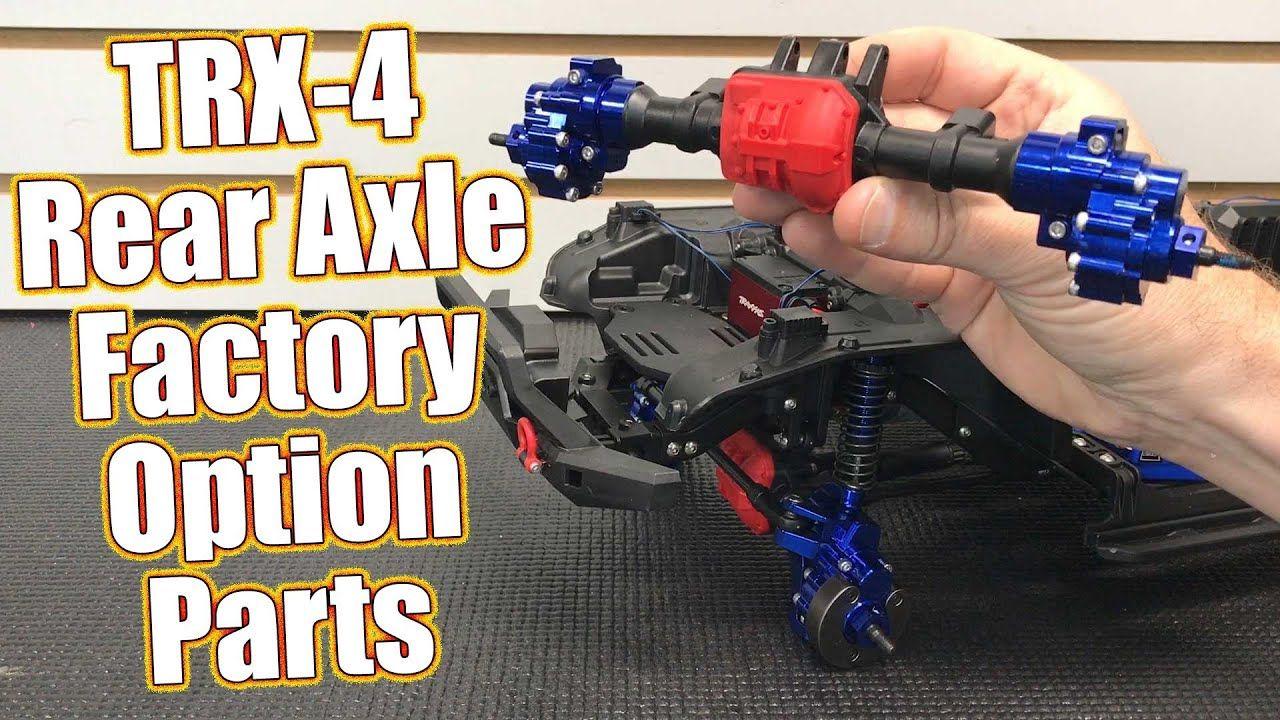 Rear Axle Options Overview Traxxas TRX4 Sport Full