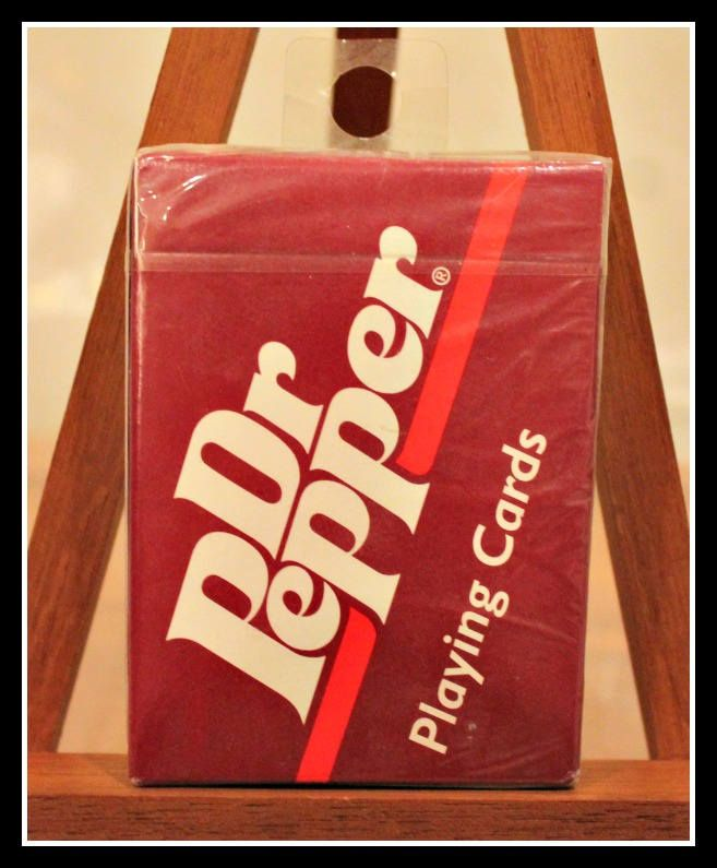 Vintage Deck Of Dr Pepper Playing Cards Hoyle Brand Playing Cards Poker Euchre Blackjack Made In The Usa Plastic Coated Pl Dr Pepper Euchre Playing Cards