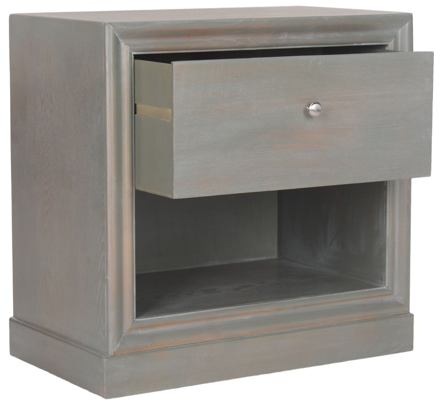 Cain End Table French Grey