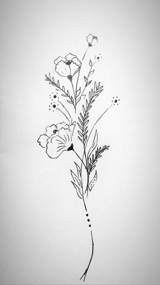 Photo of Zeichnen Sie Blumen, Blumenbilder #painted #drawing #Flower – zeichnen Blumen, #…