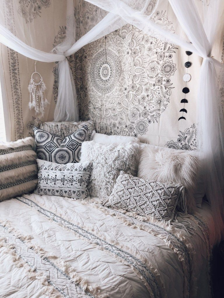 Boho Bedroom Styling - Sarah Grace at Home