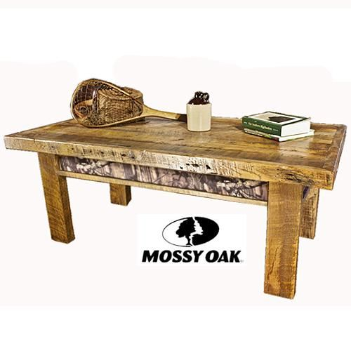 Mossy Oak Camo Collection Coffee Table