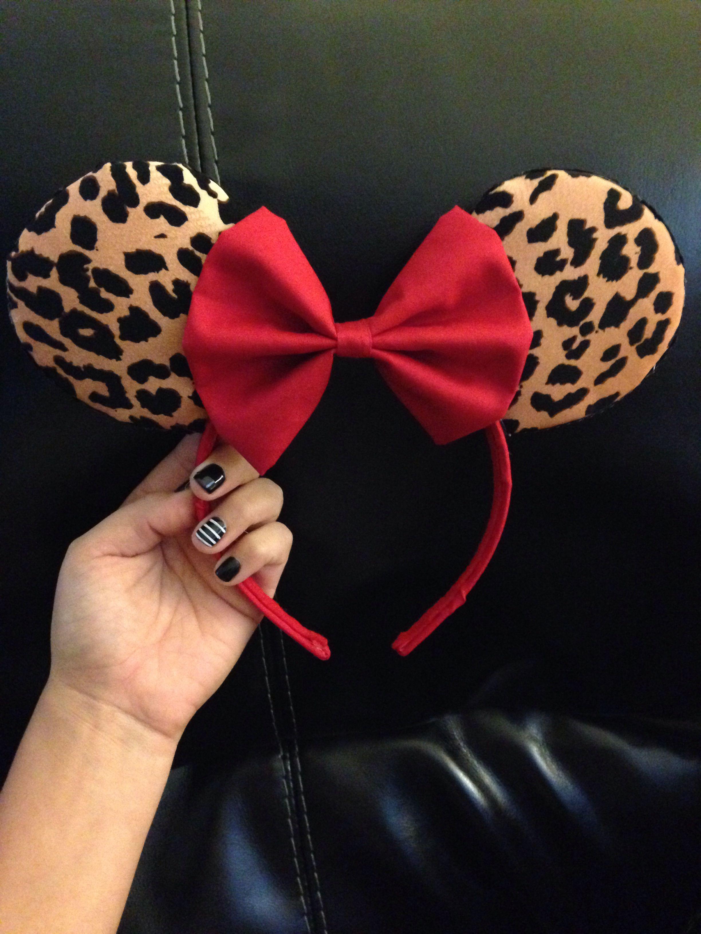 Diy Minnie Mouse Ears Perfect For Animal Kingdom Disney