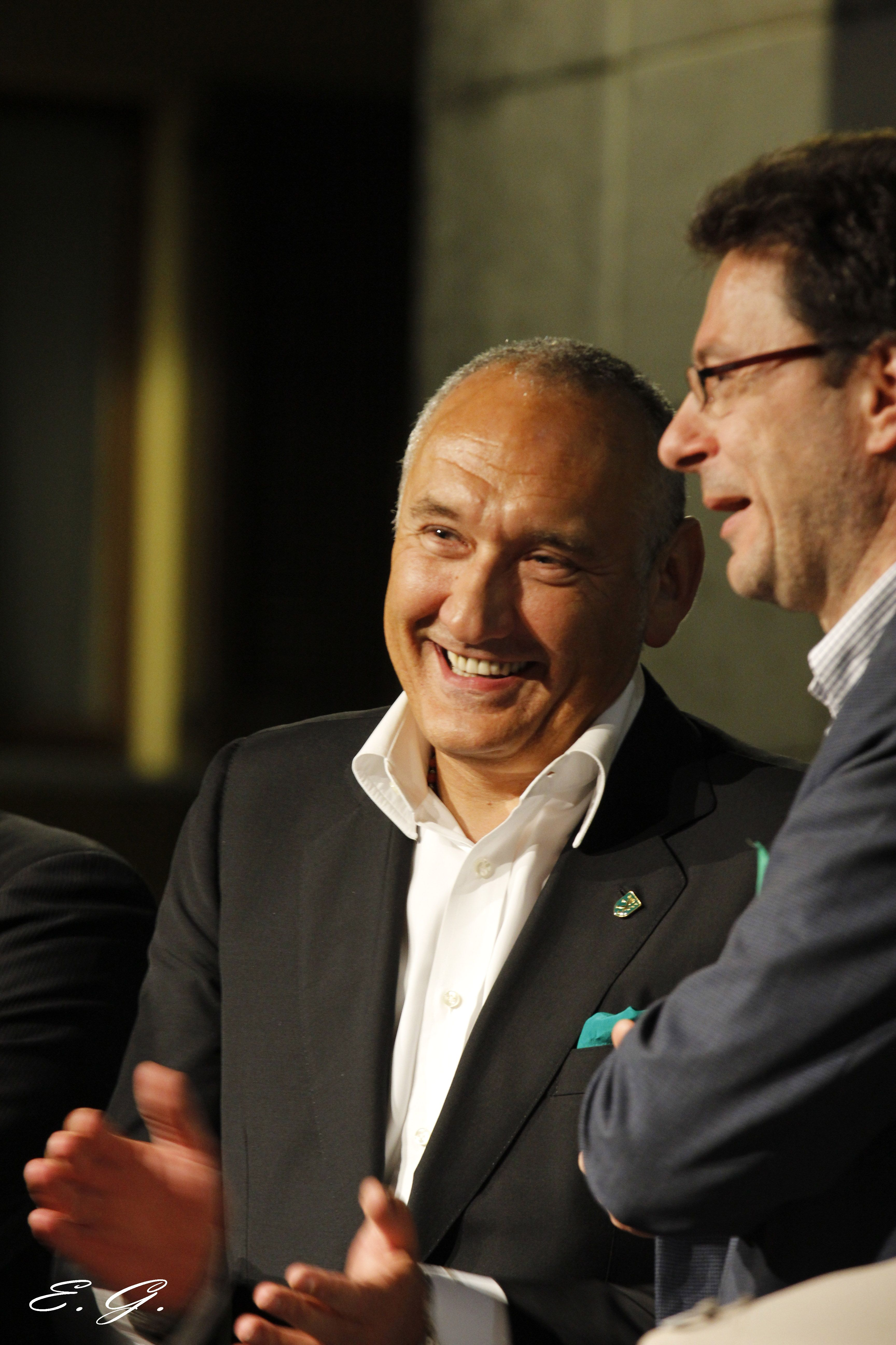 con Giancarlo