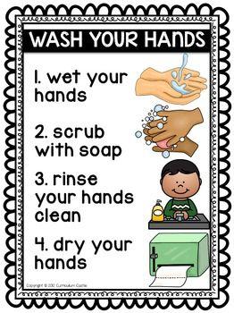 Hygiene and Healthy Habits: Hand Washing & Brushing Teeth ...