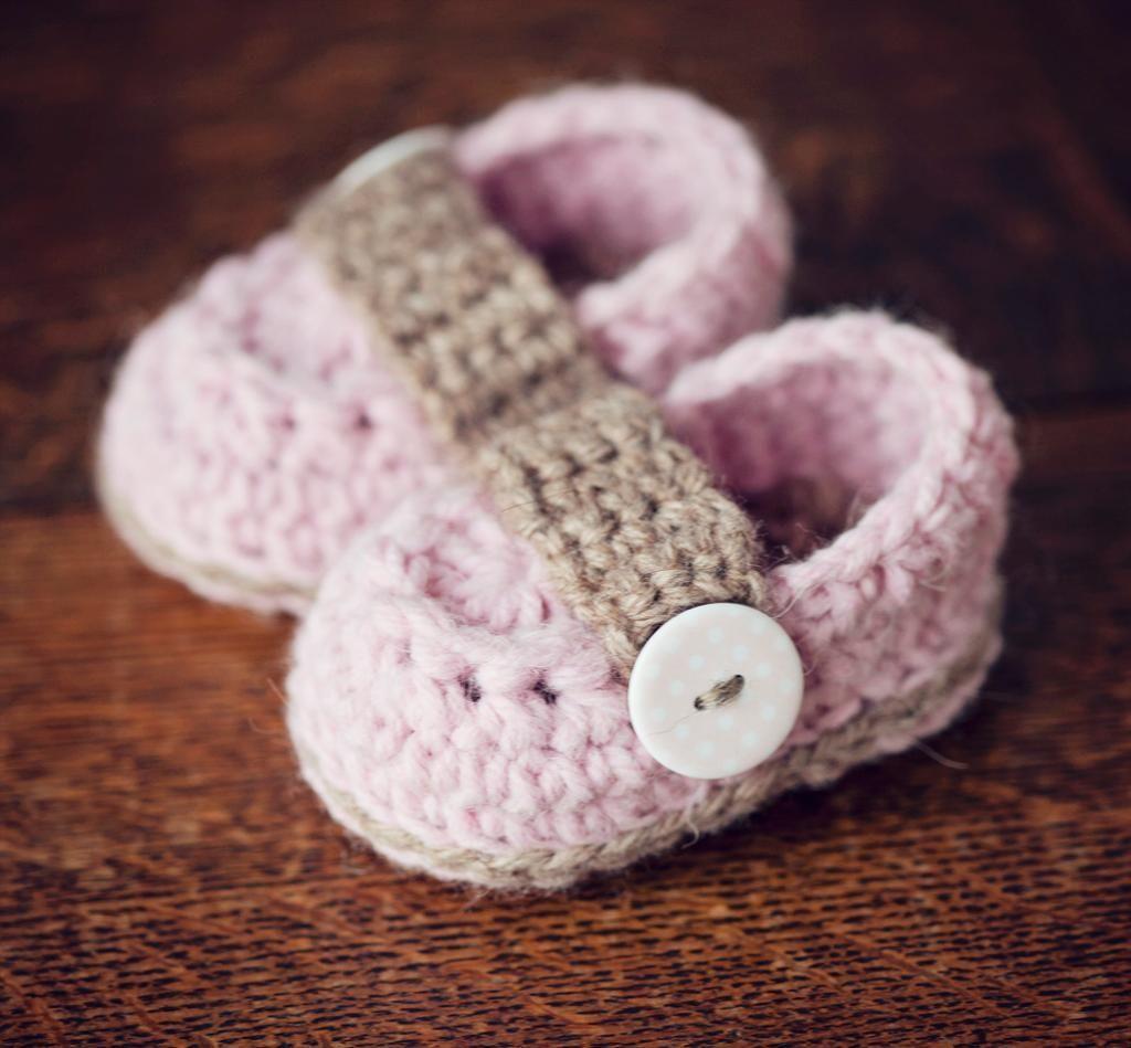 Crochet pattern - Baby Loafers   Crochet patterns baby, Crochet ...