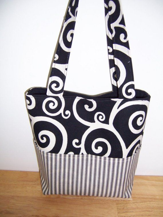 Aivilo Pocket Tote Bag - 4 Sizes to Make - Easy Customizable Sewing ...