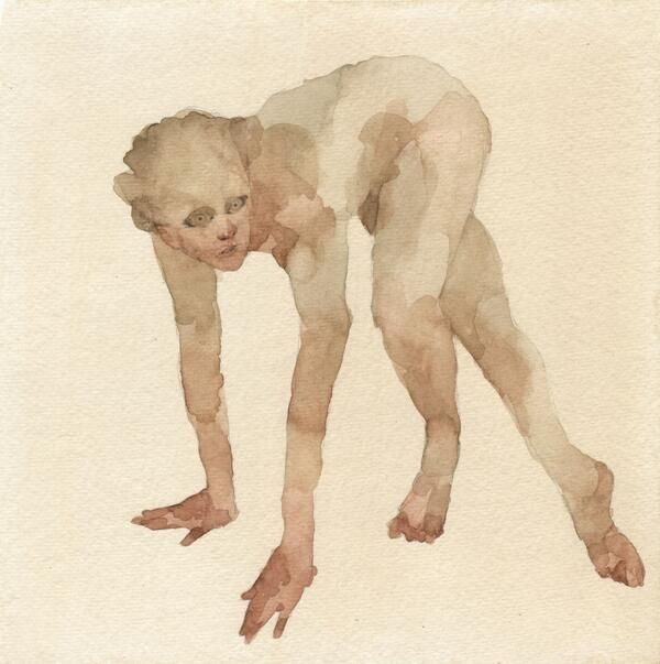Watercolor on paper, 8 x 8 inches, 2013