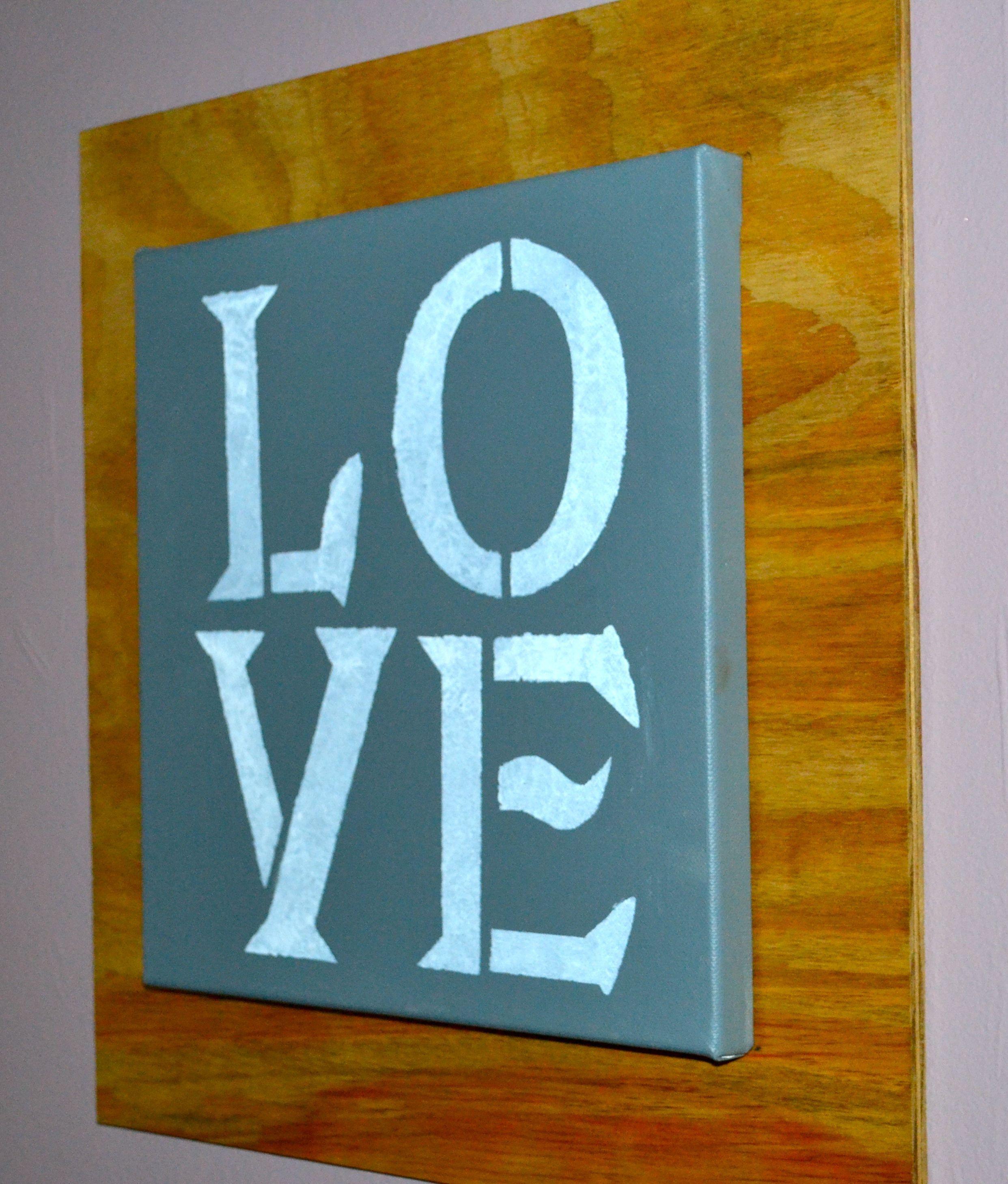 DIY Wall Art. Stencils!!!!! Easy Wall Art! | DIY Arts, Crafts and ...
