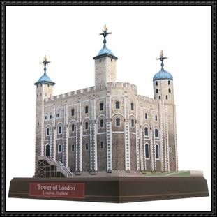 Canon Papercraft: Architecture/Building Paper Model - Tower