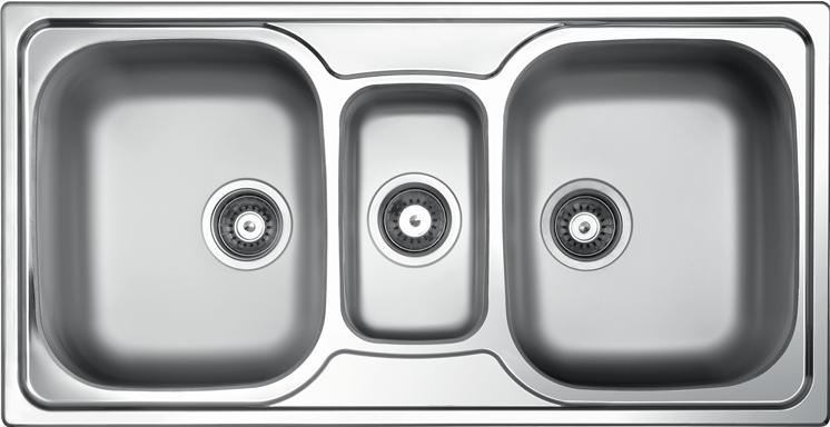 Kuhnenski Mivki Ot Nerzhdaema Stomana Alpaka Model Ex 319 Bowl Sink Sink Undermount Kitchen Sinks