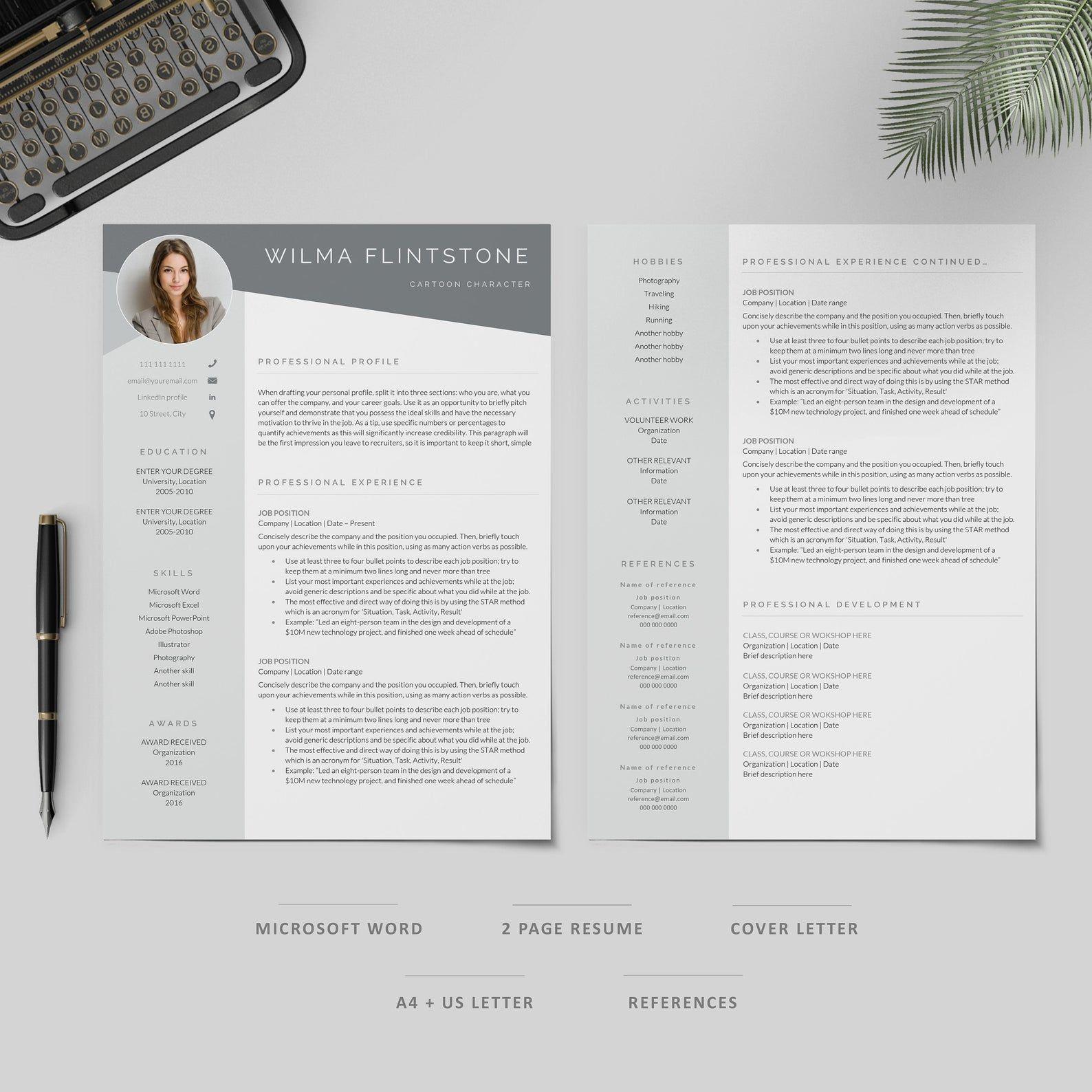 Resume Template Professional Resume Cv Template Modern Resume Resume Resume Template Word Creative Resume Cv Resume Design Resume Template Professional Resume Template Word Resume Template