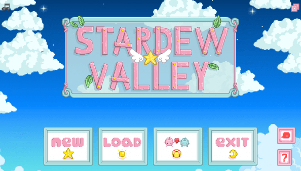 Starry Sky Interface (Cute Pastel Magical Girl Palette) for Content