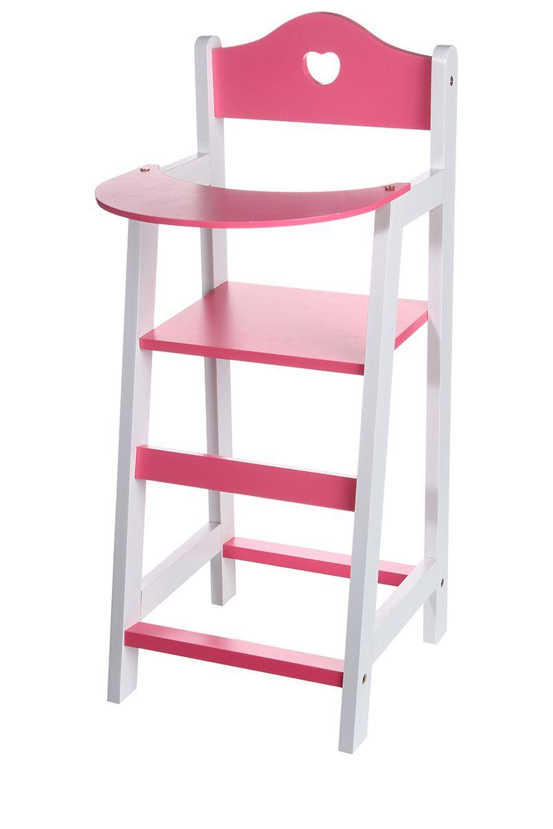Chaise haute en bois pour poup e 21 5 x 22 x 53 cm pinterest - Chaise haute poupee bois ...