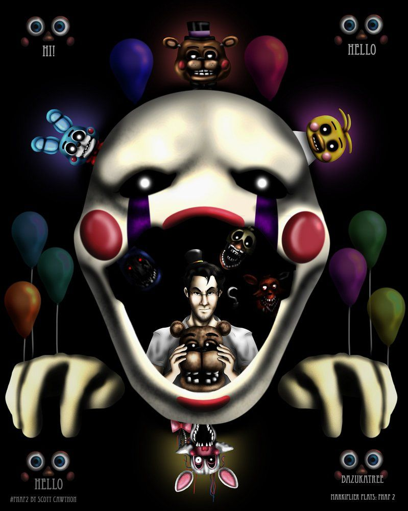 Five Nights At Freddy S 2 By Bazukatree On Deviantart Five Nights At Freddy S Five Night Freddy